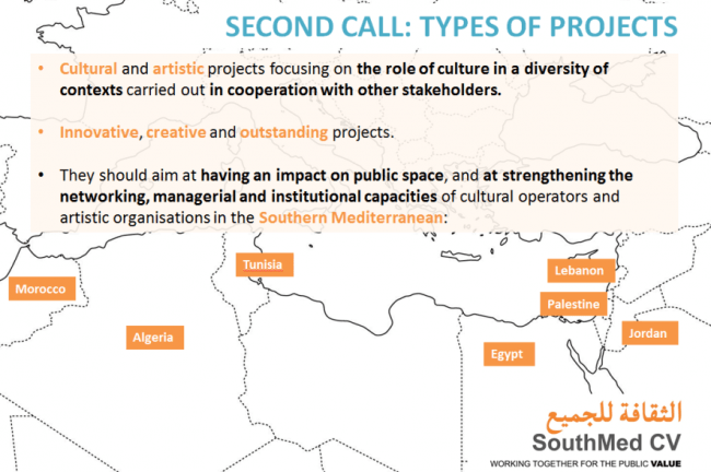 Southmed Cv 2nd Call For Project Proposals The Evaluation Period
